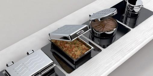 Sambonet Chafing Dish Cereal Dispenser Hot Water Urn
